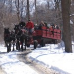 HurryHill Farm Wagon rides at Maple Festival_Small