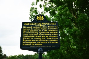 Miracles on Maple Hill Historical Marker